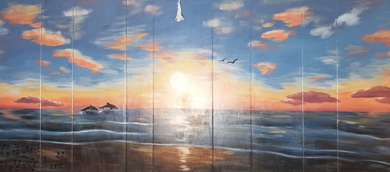 Shore House Sunrise